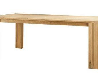 MEUBLES ZAGO - table chêne 160cm avec allonge côme - Table Bureau
