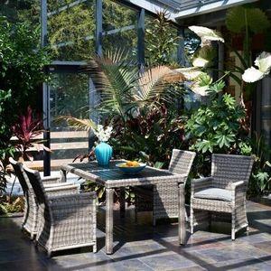 LE RÊVE CHEZ VOUS - salon de jardin luxe 4 places - Salon De Jardin