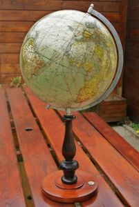 La Timonerie Antiquit�s marine -  - Globe Terrestre