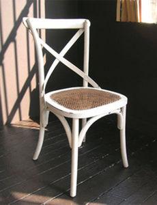 BLEU PROVENCE - lavande blanc - Chaise