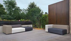 Salon bas Carlina II coloris noirSalon de jardin - Botanic