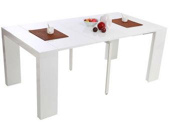 Miliboo - caleb console - Table De Repas Rectangulaire