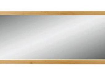 ZAGO - miroir côme en chêne massif 180x6x60cm - Miroir