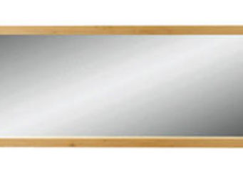 ZAGO - miroir c�me en ch�ne massif 180x6x60cm - Miroir