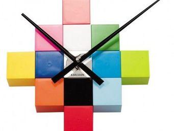 Karlsson Clocks - karlsson - horloge diy cubic - karlsson - - Horloge Murale