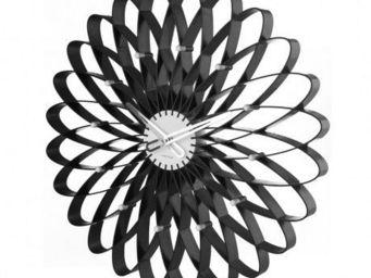 Karlsson Clocks - karlsson - horloge spirograph - karlsson - noir - Horloge Murale