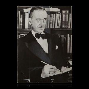 Expertissim - mann thomas (1875-1955). photographie de presse - Photographie