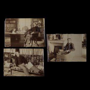 Expertissim - hervieu paul (1857-1915). trois photographies par  - Photographie