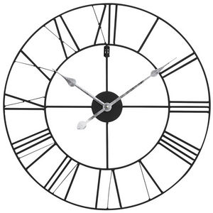 Maisons du monde - horloge usine m�tal - Horloge Murale