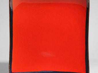 Maisons du monde - assiette plate allure rouge - Assiette Plate