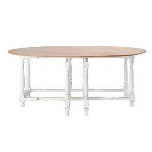MAISONS DU MONDE - table à diner saint-rémy - Table De Repas Ronde