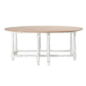 Maisons du monde - table � diner saint-r�my - Table De Repas Ronde