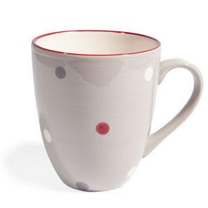 Maisons du monde - mug beige neige - Mug