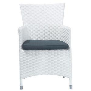 Maisons du monde - fauteuil blanc antibes - Fauteuil De Jardin