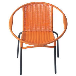 Maisons du monde - fauteuil orange rio - Fauteuil De Jardin