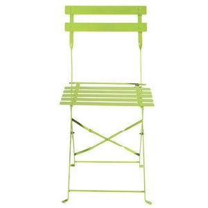 Maisons du monde - lot de 2 chaises anis confetti - Chaise De Jardin