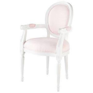 Maisons du monde - fauteuil louis poésie - Fauteuil