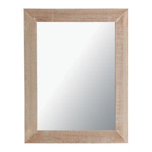 Maisons du monde - miroir natura cérusé 70x90 - Miroir