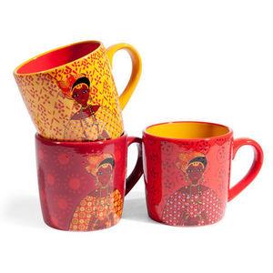 Maisons du monde - assortiment de 6 mugs tanaka - Mug