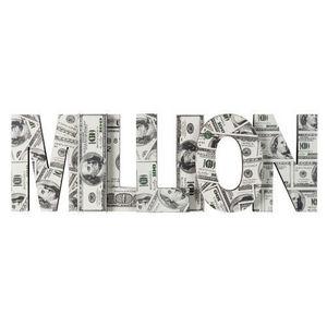 Maisons du monde - déco murale million - Lettre Décorative