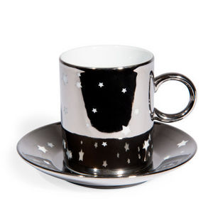 Maisons du monde - tasse et soucoupe � caf� etoil�e - Tasse � Caf�