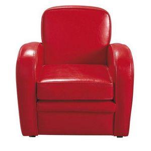 Maisons du monde - fauteuil rouge baby harvard - Fauteuil