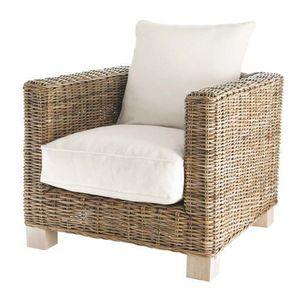 MAISONS DU MONDE - fauteuil carré key west - Fauteuil De Jardin