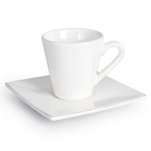 Maisons du monde - tasses à café inspiration blanches - Tasse À Café