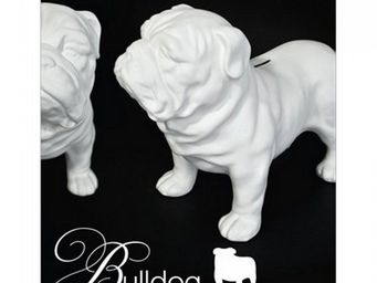 Manta Design - tirelire design bulldog - Tirelire