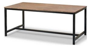 INWOOD - table repas acacia et m�tal inwood - Console D'ext�rieur