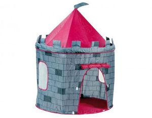 WDK Groupe Partner - tente château fort en toile 105x130cm - Tente Enfant