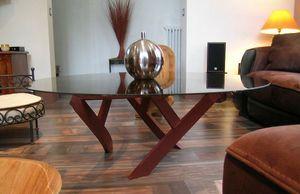 Douelledereve -  - Table Basse Ronde