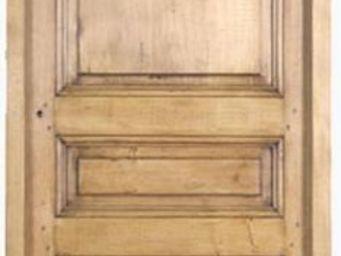 Portes Anciennes - modèle 3 panneaux tilleul - Porte De Communication Pleine