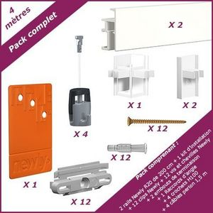 NEWLY - pack complet r20 - 4 mètres - Cimaise
