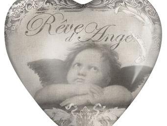 Mathilde M - sulfure coeur r�ve d'ange - Presse Papier