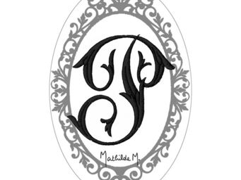 Mathilde M - savon alphabet monogramme p - Savon