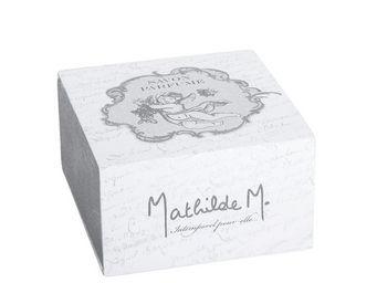 Mathilde M - boîte savon rond ange, parfum rose ancienne - Savon