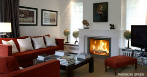 Bodart & Gonay - phenix 85 green - Cheminée À Foyer Fermé