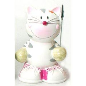 FAYE - tirelire et porte photo chat - Tirelire