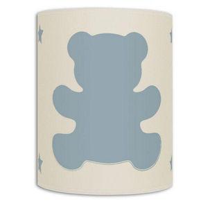 Art et Loupiote - ours bleu - Applique Enfant