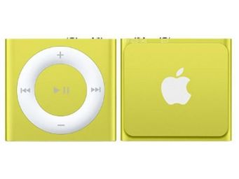 APPLE - ipod shuffle 2 go jaune (5me gnration) - new - Mp3