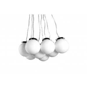 WHITE LABEL - lampe suspension design meli - Suspension