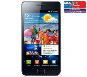 Samsung - samsung i9100g galaxy s ii android 2.3 - noir - T�l�phone