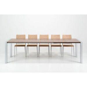 WHITE LABEL - table extensible design marcy - Table De Repas Rectangulaire