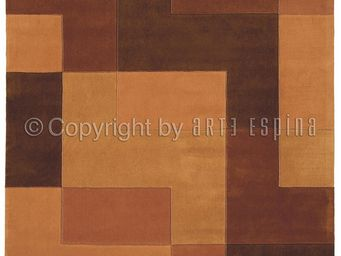 Arte Espina - tapis design brown logarythm - Tapis Contemporain