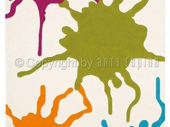 Arte Espina - tapis de chambre colour festival multicolor 120x18 - Tapis Contemporain