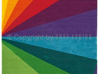 Arte Espina - tapis design rainbow festival - Tapis Contemporain