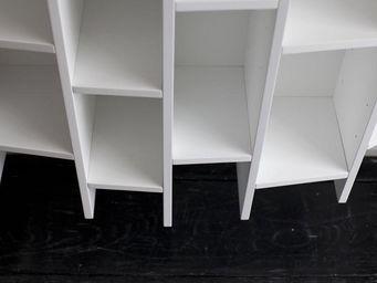 MALHERBE EDITION - bibliothèque concave horizontale - Bibliothèque Modulable