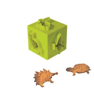 WHITE LABEL - cube emporte pi�ce animaux - Emporte Pi�ce
