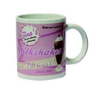 WHITE LABEL - mug vintage milkshakes so delicious - Mug